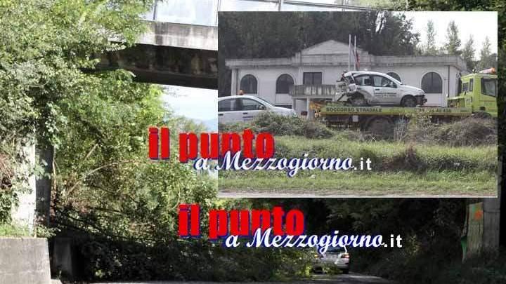 Frana con incidente sulla superstrada Cassino Formia. Due feriti
