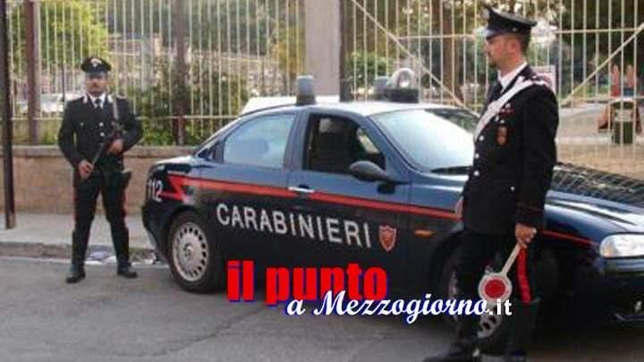 Aggredisce la ex e si scaglia contro i carabinieri a Picinisco, arrestato 41enne
