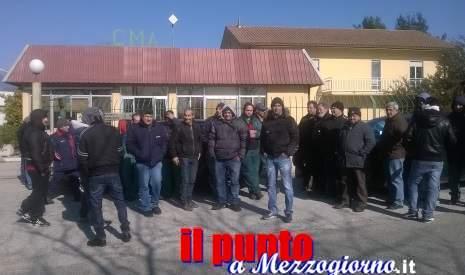 Lavoratori della CMA in sciopero, senza stipendio da sei mesi