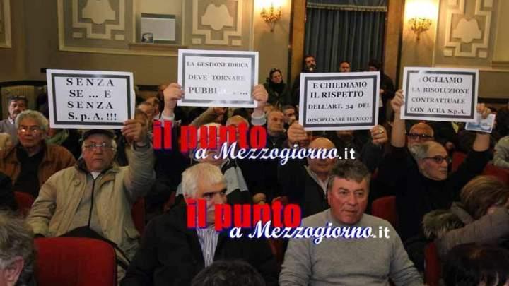 Assemblea dei sindaci, rinviato il voto sul piano investimenti – VIDEO