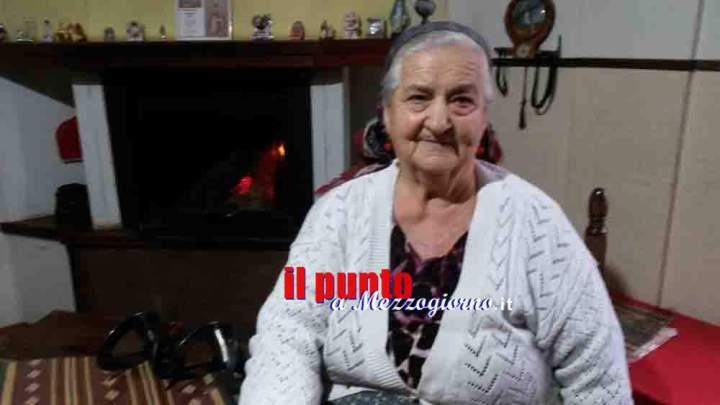 Agata Mastracci, addio ad una delle ultime mamme (balie) di Veroli