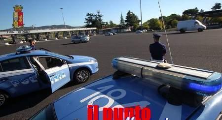 Ladro in fuga sull'A1 viene fermato dalla Polizia di Stato