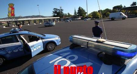 Cittadino albanese con a carico un ordine di carcerazione fermato dalla Polstrada di Cassino