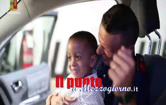 A Genova il piccolo Julio realizza il suo sogno grazie alla Polizia di Stato