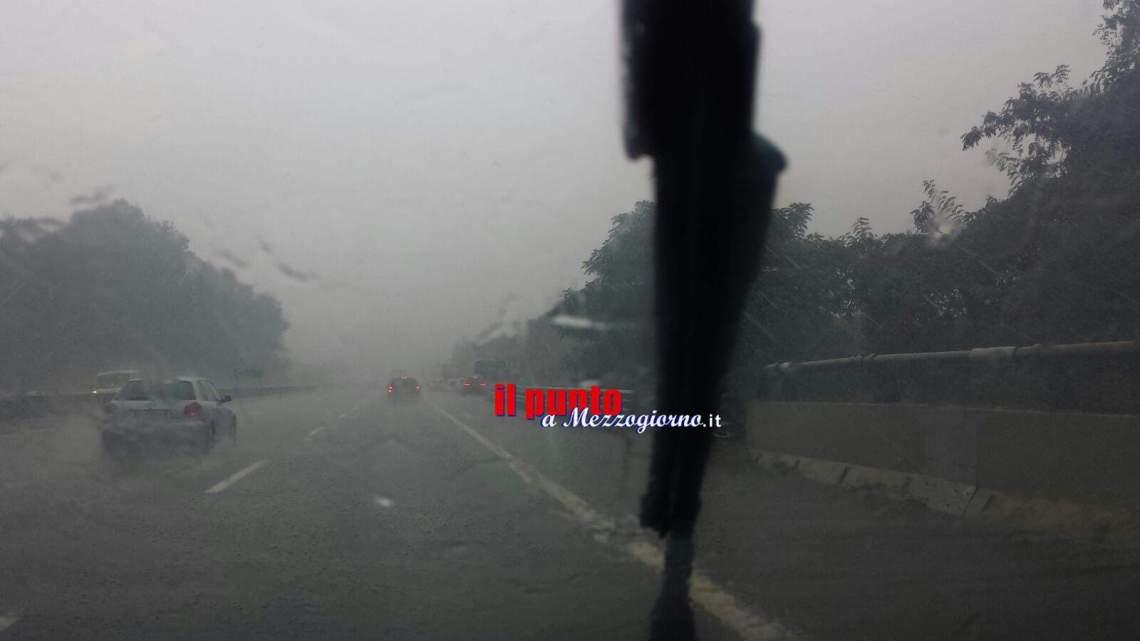 Maltempo: neve a bassa quota, piogge e venti forti al Centro-Sud