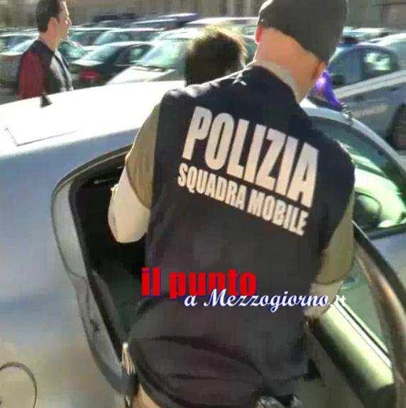 'Ndramghetista condannato tenta di darsi alla macchia ma viene arrestato a Frosinone