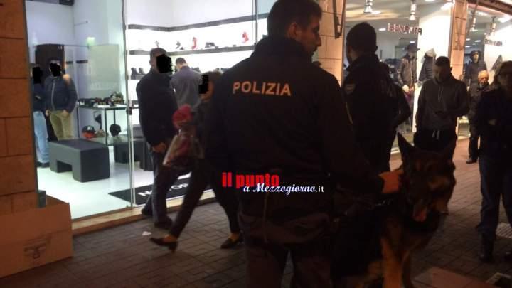 Controlli antidroga a Cassino durante la 'movida', segnalati quattro giovani
