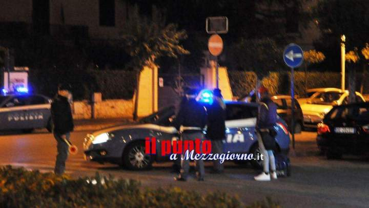 Controlli della Polizia nel cassinate con l'ausilio del Reparto Prevenzione Crimine Lazio