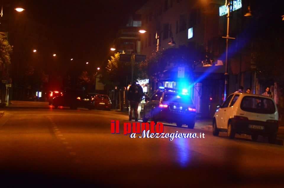 Scappa al controllo della polizia e nasce inseguimento a Frosinone: arrestato