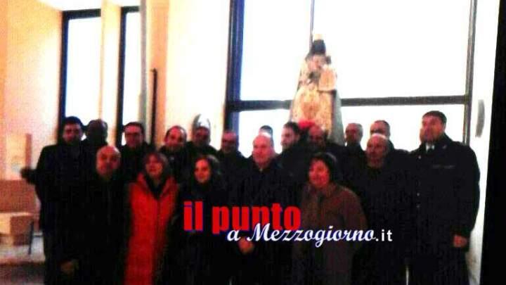Detenuti della casa circondariale di Cassino a Canneto portano la Madonna nera in processione