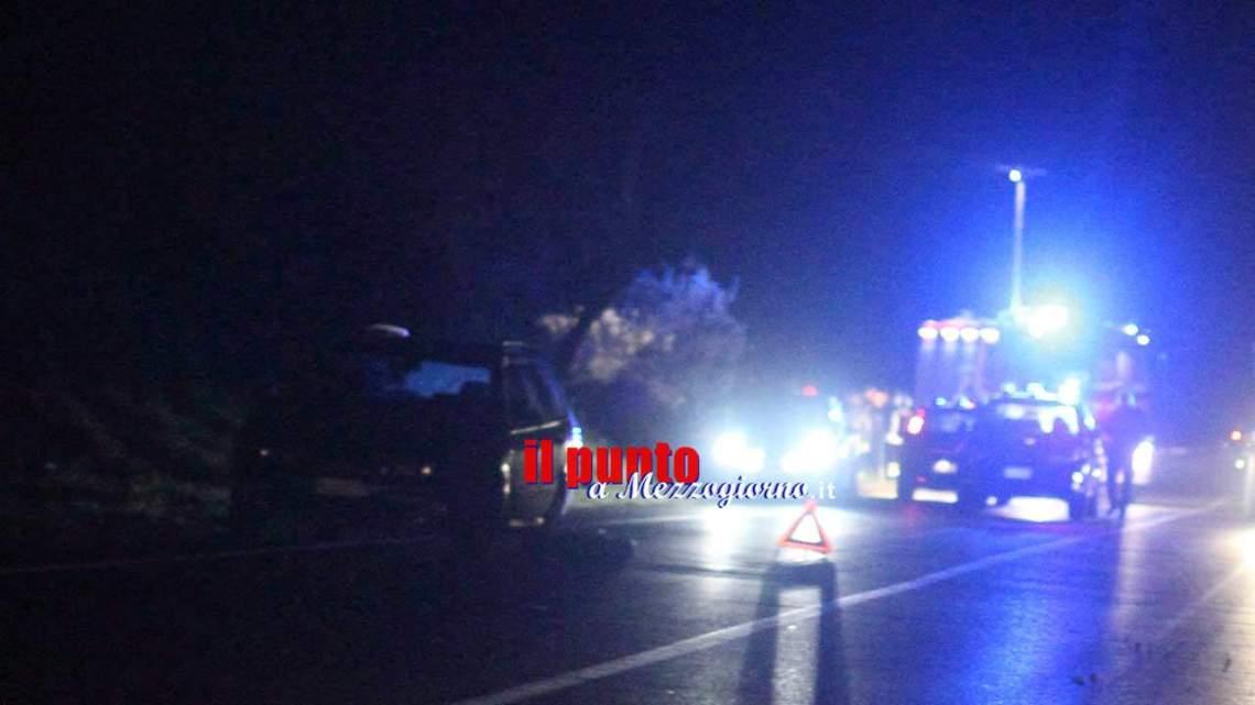 Incidente mortale sulla Venafrana al bivio di Sant'Agapito tra Isernia e Macchia d'Isernia