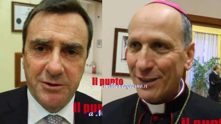 Vescovo indagato, ad Antonazzo la solidarietà dei sindaci di Cassino e Pontecorvo