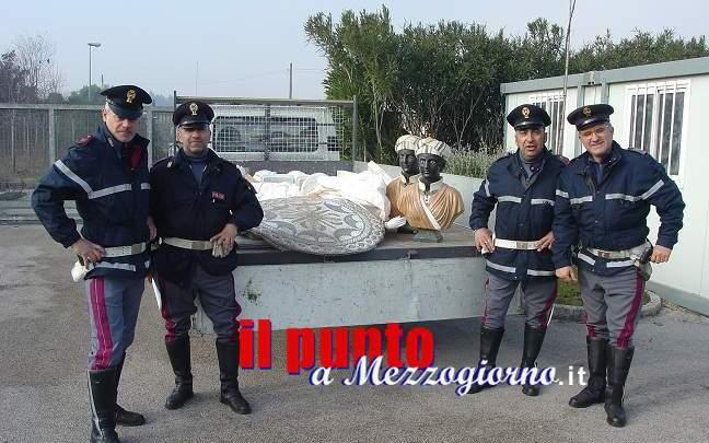 Ruba statue a Velletri, 29enne arrestato a Cassino