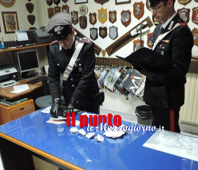 Cocaina già divisa in dosi, due uomini arrestati a Genzano di Roma
