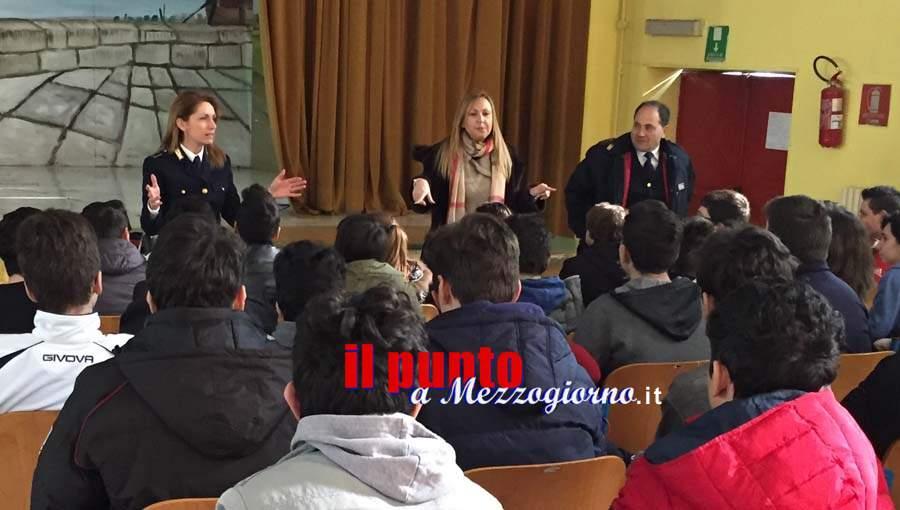 """Ausonia, la polizia incontra i giovani alla V edizione de """"Un paese a misura di bambino"""""""