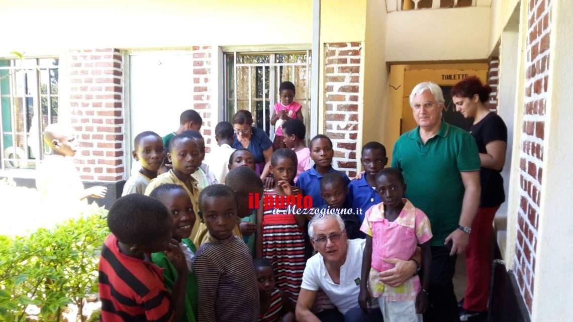 Volontari ciociari, in Africa per favorire la scolarizzazione dei più poveri del Ruanda