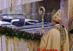 Le spoglie di San Pio da Pietralcina esposte a Roma dal 3 al 11 febbraio