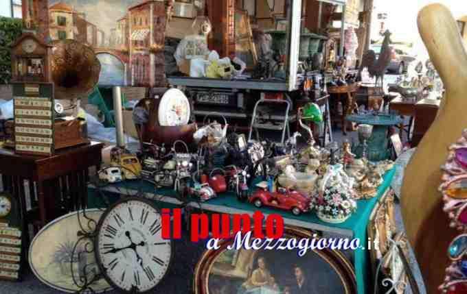 Cassino – Mercoledì 2 giugno edizione straordinaria del mercatino dell'antiquariato