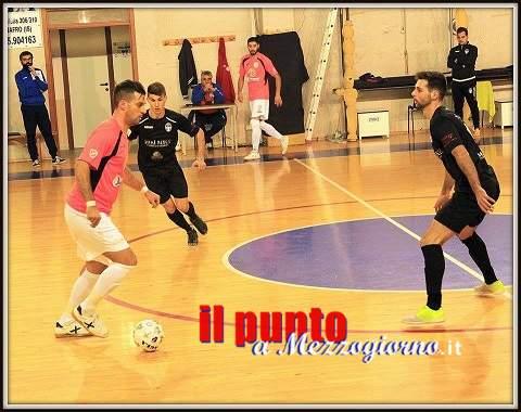 Calcio a 5: Sotto la pioggia il Venafro capolista pareggia a Sant'Elena Sannita