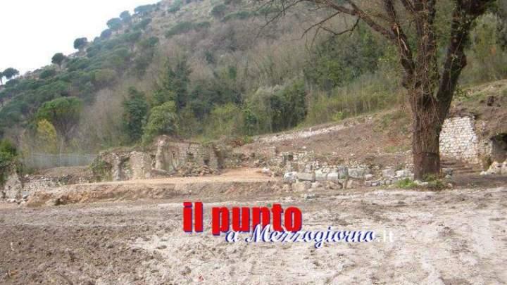 Sbancamento in zona archeologica, indagano anche i carabinieri della Tutela Patrimonio