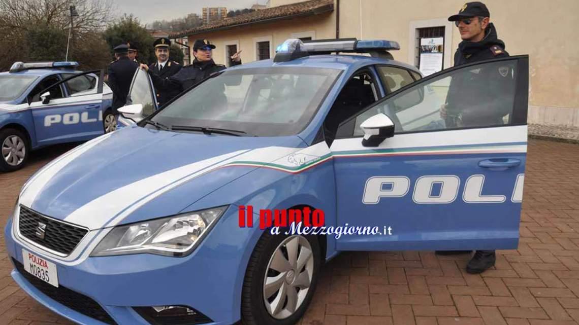 Servizio straordinario di prevenzione della Polizia oggi a Frosinone