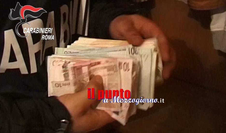 Cassinate- Si servivano del figlio di 5 anni per piazzare soldi falsi. Denunciata una coppia di genitori