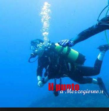 Sub disperso a Gaeta, ritrovato e multato mentre pescava in area vietata