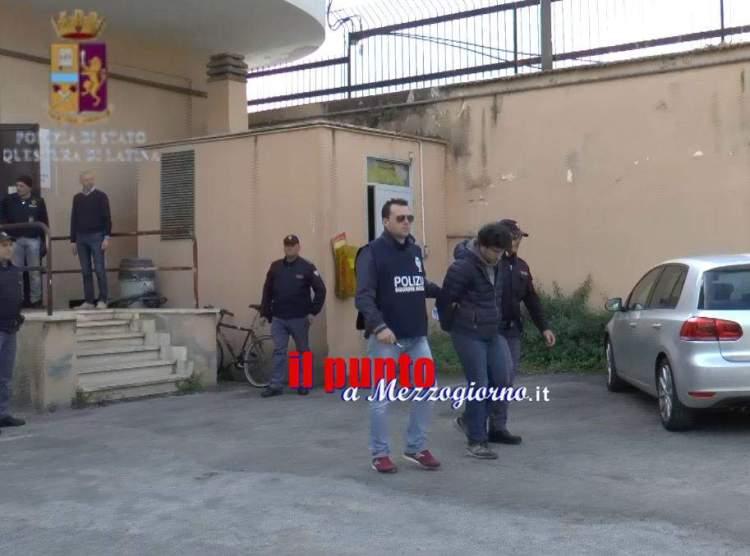 arrestato latina
