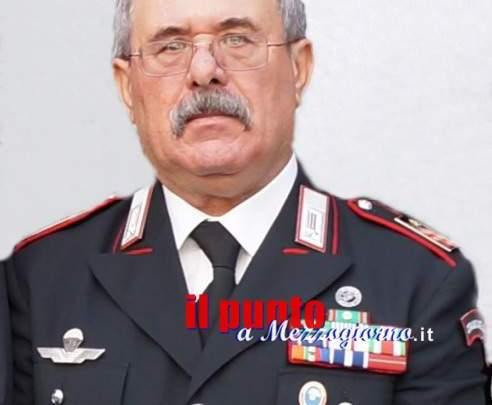 Lutto nell'arma dei carabinieri a Viterbo, è morto il luogotenente Luciano Bitti