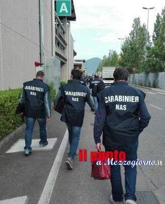 Alimenti non rintracciabili, Nas multa e sequestra merce in un ristorante di Cassino