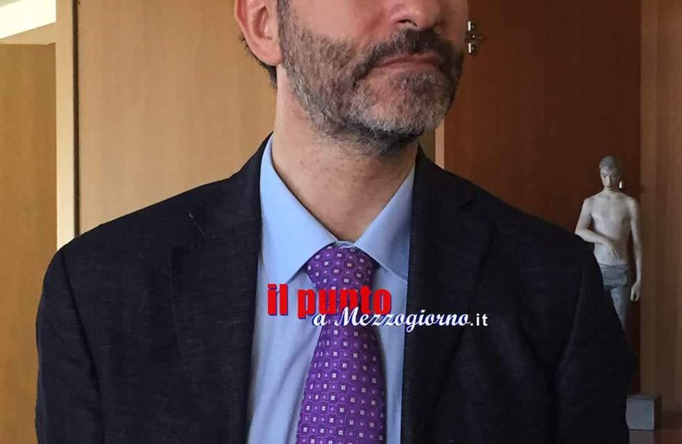 Arriva in questura a Frosinone il nuovo vicario Giovanni Nunzio Trabunella