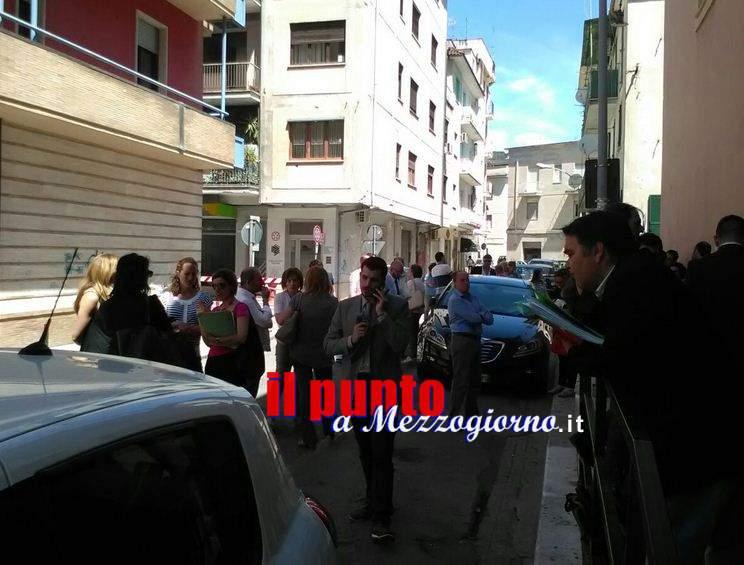 Fuga gas a Cassino, evacuato il tribunale di via Tasso