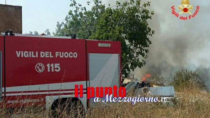 Giornata di roghi. Incendi in provincia di Latina