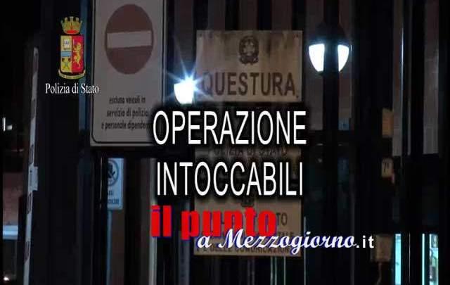 """Sorpresi a Cassino quattro degli """"Intoccabili"""" di Frosinone, allontanati con foglio di via"""