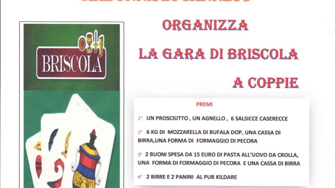 Il 18 agosto torneo di briscola con l'associazione Largo a Don Bosco