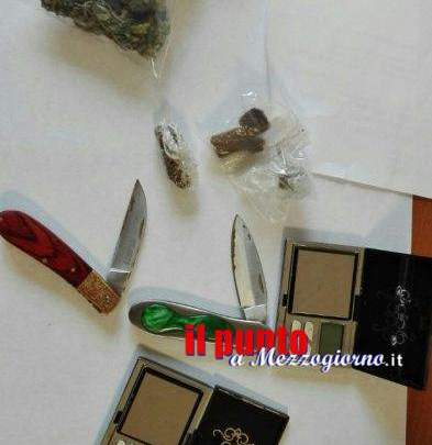 Hashish e marijuana in classe all'Agrario e all'Itis di Cassino
