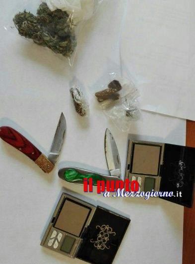 Hashish e marijuana in classe all'Agrario e all'Itis di Cassino