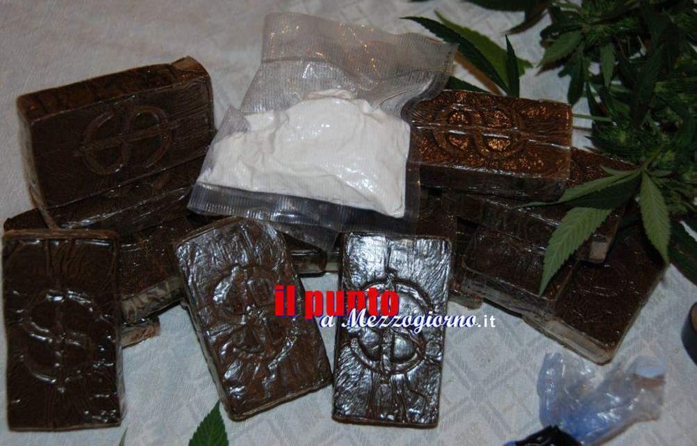 Tre chili di droga sequestrata a Fondi, arrestato 54enne