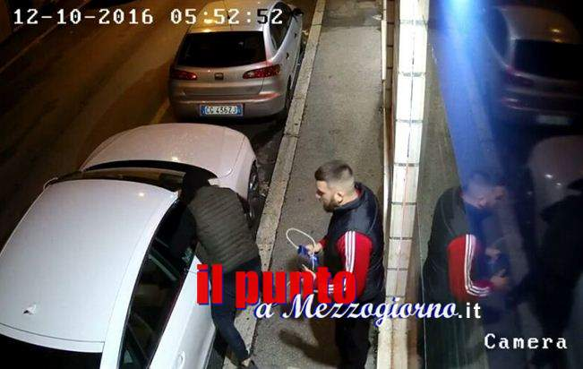Ladri di auto a Cassino, in un video vi mostriamo come fanno