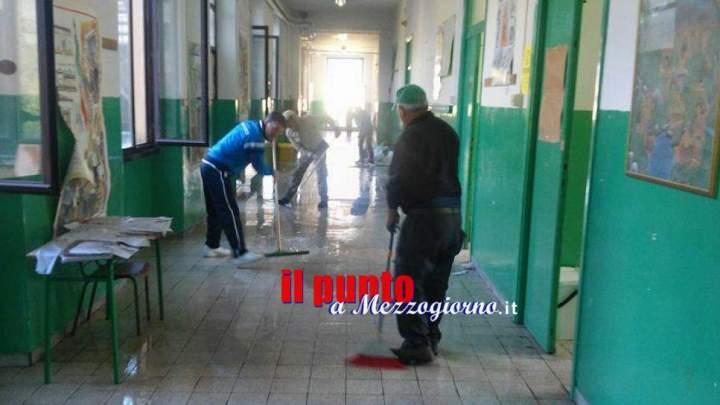 Atto vandalico a Montelanico, i danni sono enormi. La scuola rischia di rimanere chiusa tutto l'anno