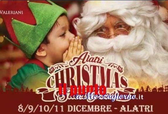 Christmas Street Food, illuminerà il centro storico di Alatri