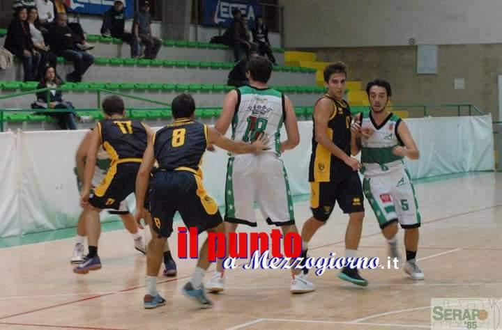 Basket serie D: La capolista Frassati Ciampino espugna il Palamarina, a Serapo non basta l'orgoglio