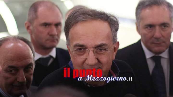 Morte di Marchionne, sindaco di Cassino: Perdiamo grande manager, Fca continui sul Cassino planet
