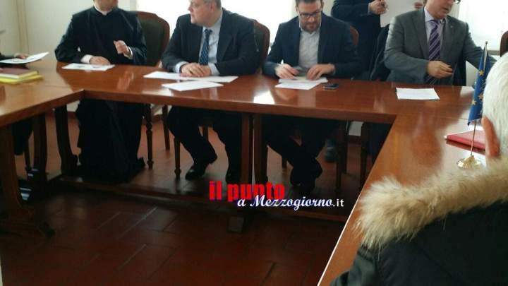 Il sindaco di Cassino al lavoro sul programma per le celebrazioni in onore di San Benedetto.Collaborazione con Norcia e Subiaco