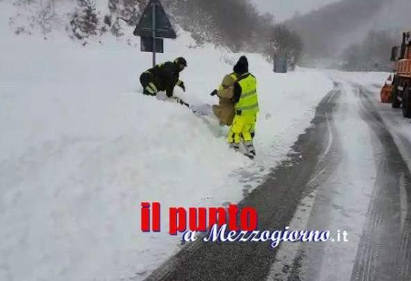Amatrice, anziano salvato dai pompieri di Cassino e Frosinone – VIDEO –