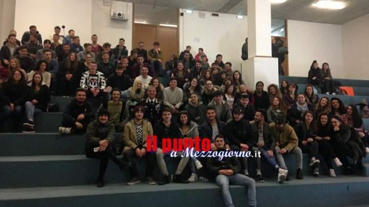 Incontro sulla legalità con studenti e Arma dei Carabinieri ad Anagni