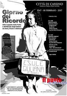 """10 Febbraio: """"GIORNO DEL RICORDO"""", eventi e manifestazioni per rievocare l'eccidio delle foibe"""