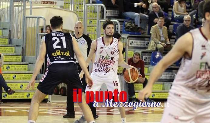 Basket A/2: Ferentino sconfitto (62-73) in casa dalla capolista Biella