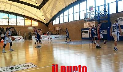 Basket C Gold: NB Sora 2000 vince la quarta partita e vola per l'accesso ai Play-Off
