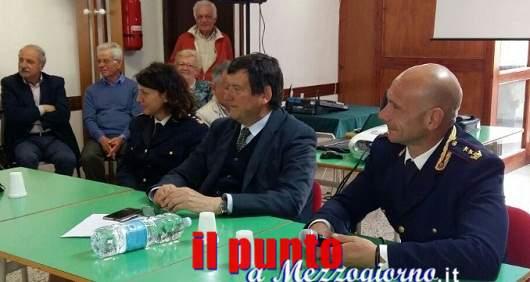 Tour antitruffe della polizia ad Anagni, il questore Santarelli mette in guardia gli over 65